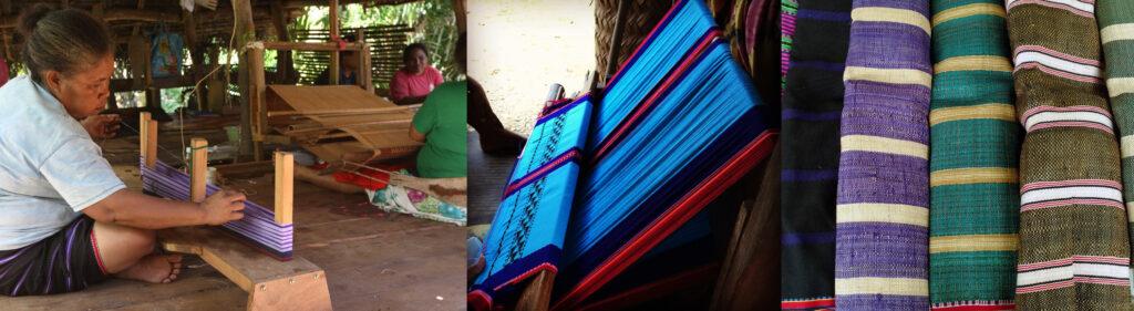 Various woven materials